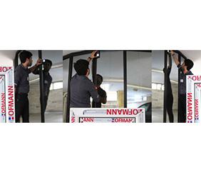 تعویض پنجره دو جداره یوپی وی سی بدون تخریب