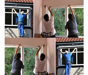 upvcتعویض پنجره قدیمی با پنجره