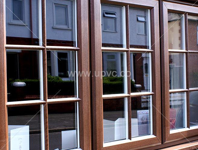 پنجره يو پي وي سی ثابت لمینیت