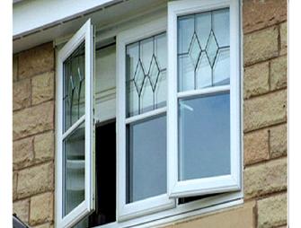 پنجره يو پي وي سی ثابت در ترکیب تک حالته