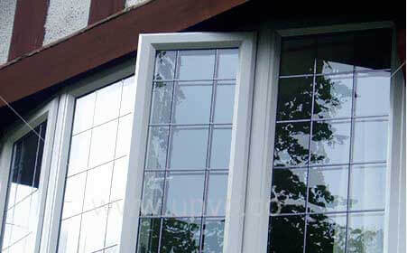 پنجره يو پي وي سي تك حالته